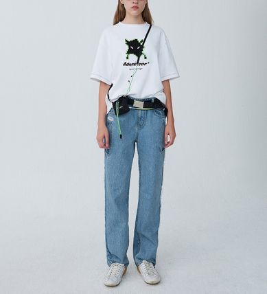 ADERERROR More T-Shirts Unisex Street Style T-Shirts 15