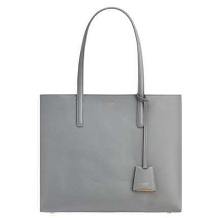 Casual Style Plain Office Style Formal Style  Logo Totes