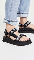 Moschino Open Toe Casual Style Sport Sandals Logo Shoes
