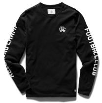 Ron Herman Crew Neck Long Sleeves Cotton Logos on the Sleeves