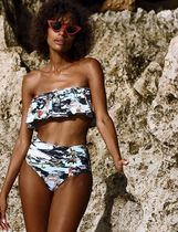 ANDI BAGUS Tropical Patterns Street Style Beach Cover-Ups