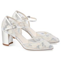 Bella Belle Flower Patterns Party Style Shoes
