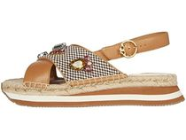 Tory Burch Wedge Open Toe Platform Casual Style Studded Block Heels