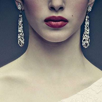 Costume Jewelry Party Style Silver Elegant Style