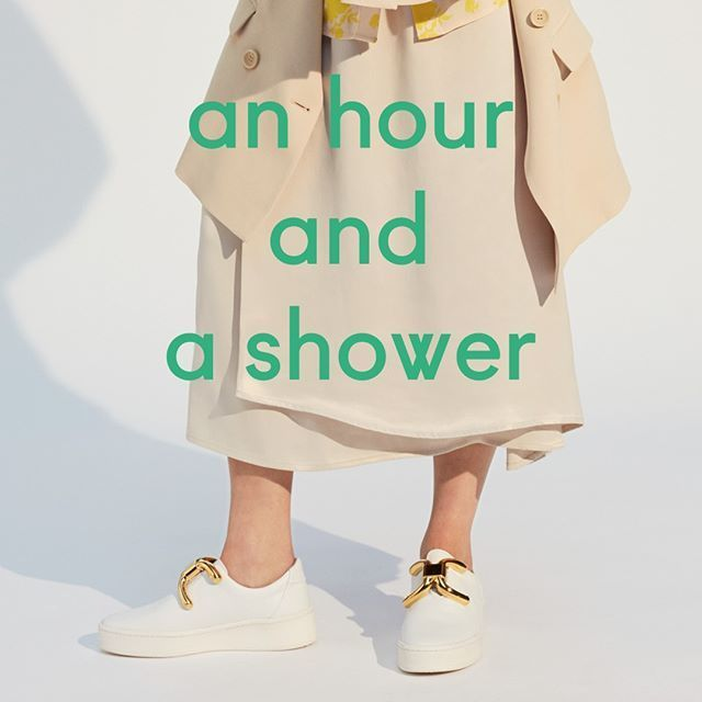 shop an hour and a shower shoes