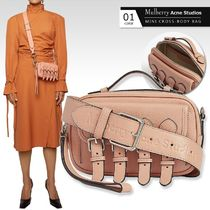 Mulberry Casual Style Collaboration 2WAY Plain Leather Elegant Style