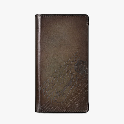 Leather Folding Wallet Card Holders