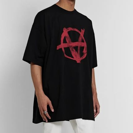 VETEMENTS More T-Shirts Street Style Cotton Short Sleeves Logo T-Shirts 4