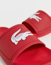 LACOSTE Shower Shoes Logo Flat Sandals