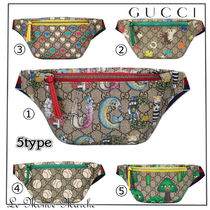 GUCCI Monogram Casual Style Street Style Collaboration 2WAY