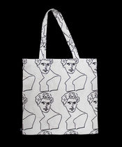 sogon sogon Casual Style Unisex Street Style A4 Totes