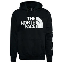 THE NORTH FACE Street Style Long Sleeves Logo Outdoor Hoodies