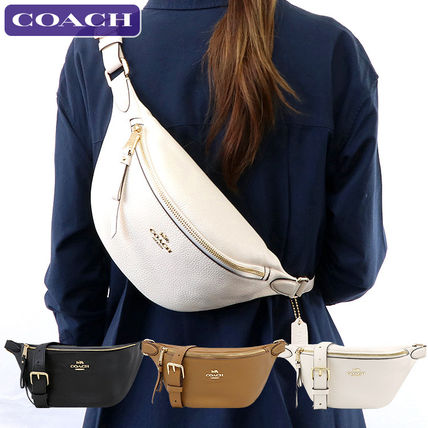 Leather Crossbody Hip Packs