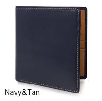 Whitehouse Cox Plain Leather Folding Wallet Folding Wallets