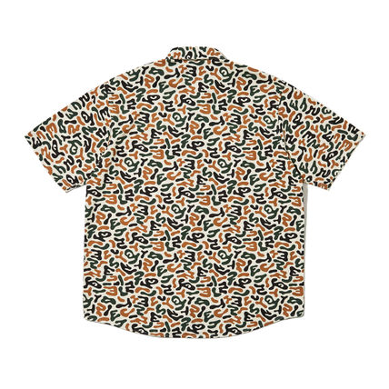 WKNDRS Shirts Camouflage Unisex Street Style Plain Cotton Short Sleeves 9