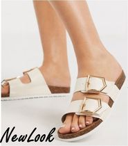 New Look Open Toe Casual Style Suede Sandals Sandal