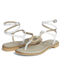 RACHEL COX Leather Sandals Sandal