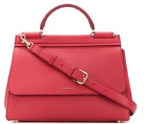 D&G Calfskin Leather Logo Handbags