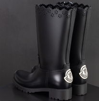 MONCLER MONCLER GENIUS Collaboration PVC Clothing Mid Heel Boots