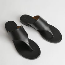 & Other Stories Casual Style Leather Party Style Footbed Sandals