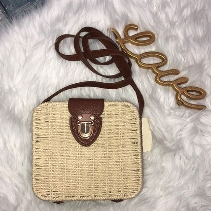 Casual Style Street Style Plain Crossbody Shoulder Bags