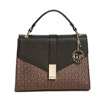 Guess Monogram Casual Style Faux Fur 2WAY Elegant Style Crossbody