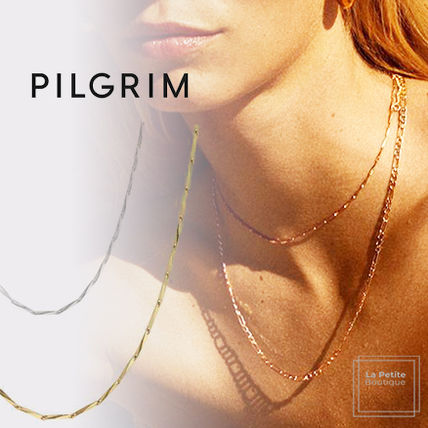 PILGRIM Necklaces & Pendants Casual Style Chain Handmade Party Style Office Style