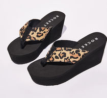 DOLLS KILL Leopard Patterns Platform Casual Style