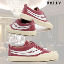 BALLY Suede Low-Top Sneakers