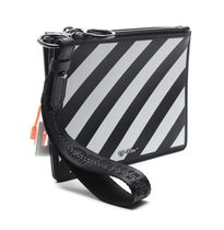 Off-White Street Style Leather Clutches