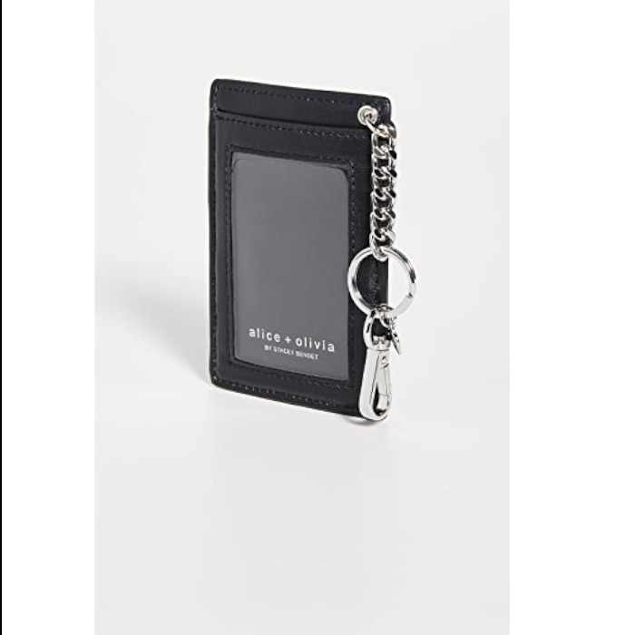 shop alice+olivia wallets & card holders