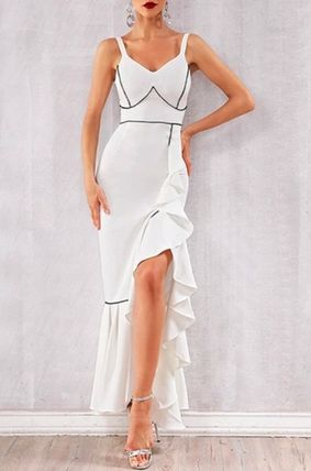 Street Style Plain Party Style Formal Style  Dresses