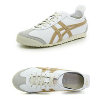 Onitsuka Tiger Unisex Street Style Logo Low-Top Sneakers