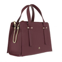 AIGNER Casual Style Leather Elegant Style Crossbody Formal Style