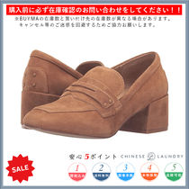 CHINESE LAUNDRY Square Toe Casual Style Suede Loafer & Moccasin Shoes