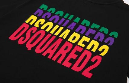 D SQUARED2 More T-Shirts Unisex Street Style Cotton Short Sleeves Luxury T-Shirts 8