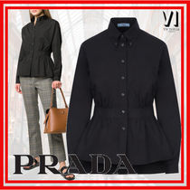 PRADA Long Sleeves Cotton Medium Shirts & Blouses