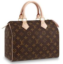 Louis Vuitton Monogram Leather Logo Boston & Duffles