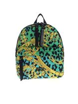 VERSACE Casual Style Logo Backpacks