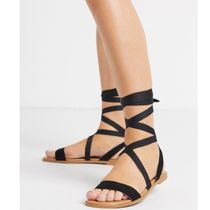 ASOS Lace-up Casual Style Plain Sandals Sandal