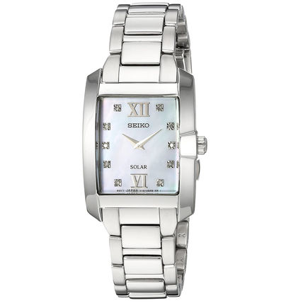 Casual Style Metal Square Party Style Jewelry Watches