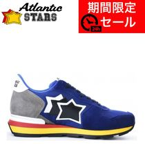 Atlantic STARS Star Suede Street Style Leather Handmade Logo Sneakers