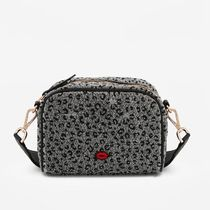 Bons baisers de Paname Leopard Patterns Casual Style Blended Fabrics Crossbody