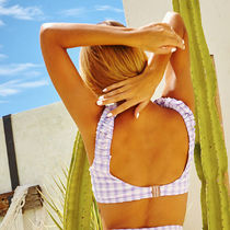 REVE REVE More Swimwear Gingham Co-ord Icy Color Swimwear 5