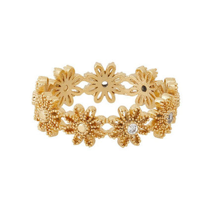 Costume Jewelry Casual Style 18K Gold Elegant Style Rings