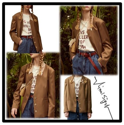 Casual Style Street Style Jackets