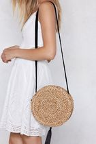 NASTY GAL Casual Style Plain Crossbody Shoulder Bags
