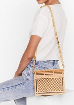 NASTY GAL Casual Style Street Style Plain Crossbody Shoulder Bags
