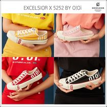 EXCELSIOR Casual Style Unisex Low-Top Sneakers