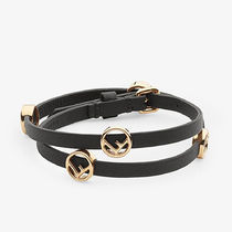 FENDI Bangles Leather Bracelets